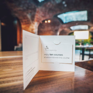 Buy a ten course gift voucher for Alchemilla through our official voucher shop